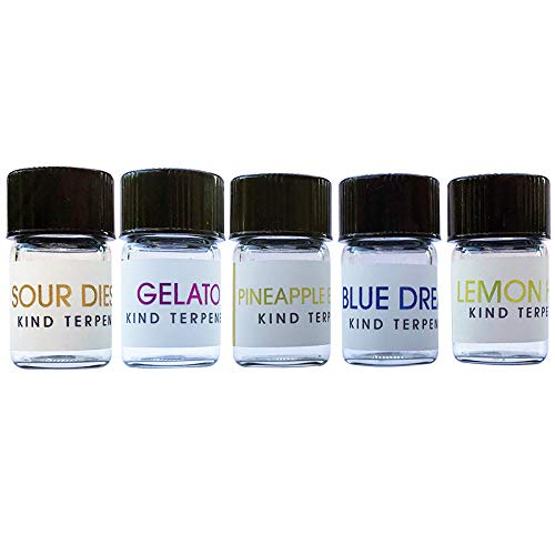 Kind Terpenes - 5 pc Sample Kit #2 (1 ml x 5) Strain Specific Terpene Concentrate