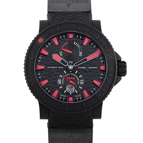 Ulysse Nardin Maxi Marine Diver Black Sea Automatic Mens Watch - Nardin Ulysse 92 Watches