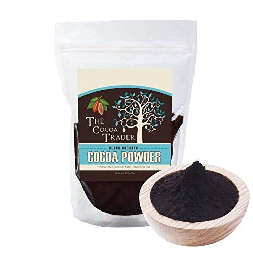 Dutch Processed Black Cocoa Powder- 1 LB