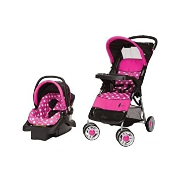 Amazon Com Minnie Mouse Infant Travel System Stroller And Carseat