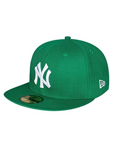 Yankees 15751 Basic Mlb Homme The Vert Baseball Noir Fitted New 59fifty Blanc The Era Chapeau q6ZEWwI