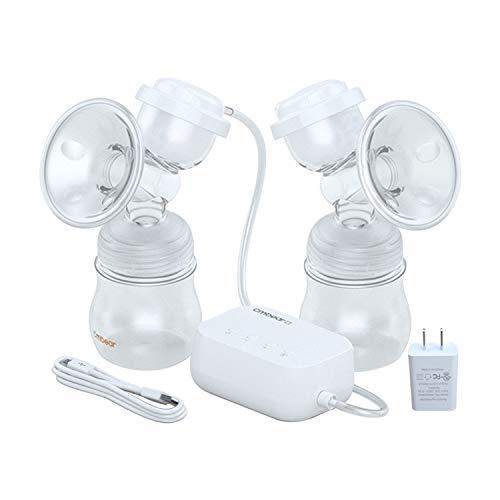 Amazon.com: Bomba de mama eléctrica, bomba de mama doble con ...