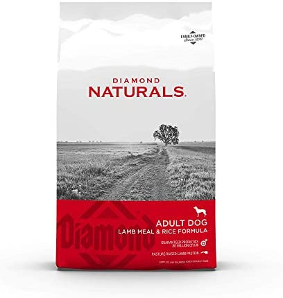 Diamond Naturals Premium Formulas Dry Dog Food for Adult Dogs Made with Real Meat Protein, Superfoods, Probiotics and Antioxidants for Supporting Overall Health in Dogs