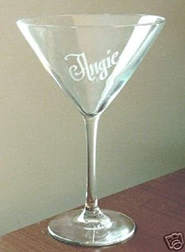 (Personalized 12 oz. Martini Glass)