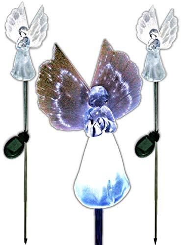 Solar Light Angels For Gardens