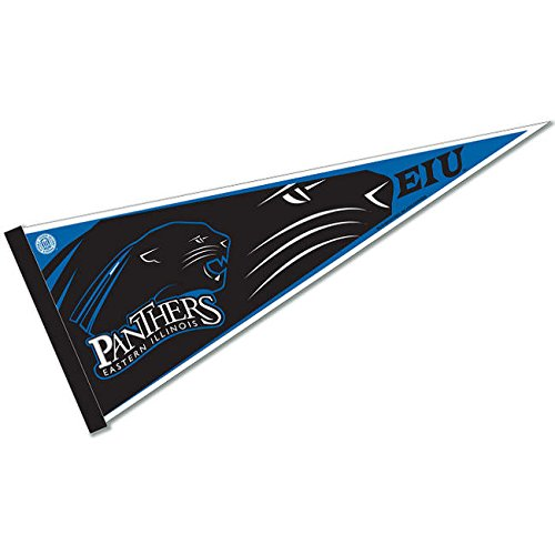 Rico Industries NCAA Eastern Illinois Panthers 12-Inch by 30-Inch Classic Pennant Décor