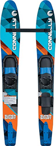 (CWB Connelly Super Sport 55 Inch Water Sports Ski Combo and Ski Stabilizer Bar )