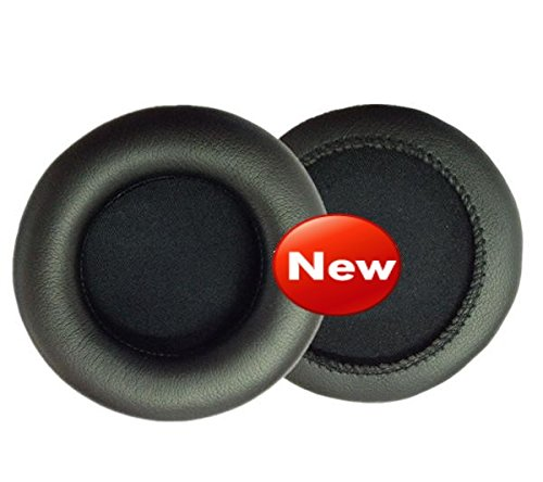 Headphone Ear Pads Cushion Replacement for Pioneer HDJ1000 HDJ2000 HDJ1500 Earpad Foam Cover 3.54inch Dia