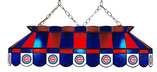 Chicago Stained Glass (Imperial Officially Licensed MLB Stained Glass Billiard/Pool Table Light, Chicago)
