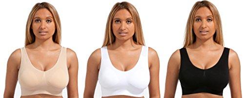 Beauty Dream - Sujetador básico - para mujer Black/White/Nude - PADDED