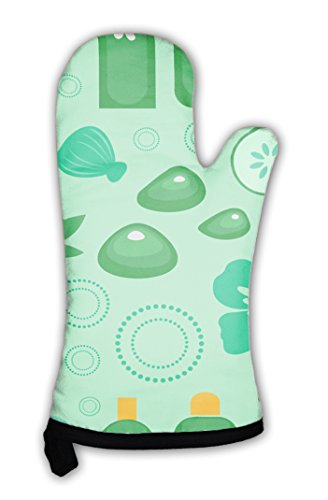 Gear New Oven Mitt, Spa Pattern, GN26433 by Gear New