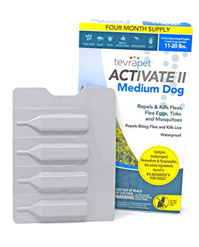 TevraPet Activate II Flea & Tick Prevention for Dogs – Topical, 11-20 lbs by TevraPet (Image #3)
