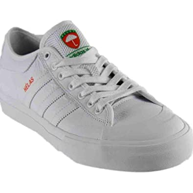 191a66025eab adidas Matchcourt X Helas (White White White) Men s Skate Shoes-10