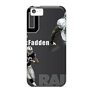 Iphone 5c Covers Cases - Eco-friendly Packaging(oakland Raiders)