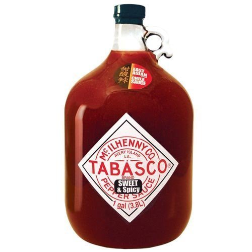 Tabasco Sweet Sauce - Tabasco Pepper Sauce, Sweet and Spicy, 128 Ounce