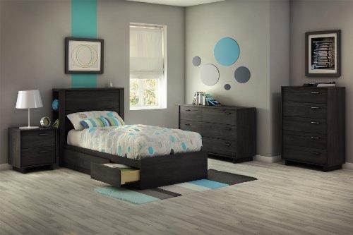 home, kitchen, furniture, bedroom furniture,  dressers 5 image South Shore Fynn 6-Drawer Double Dresser, Gray promotion