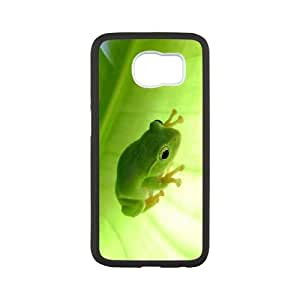 Frog Samsung Galaxy S6 Cell Phone Case White as a gift I718689
