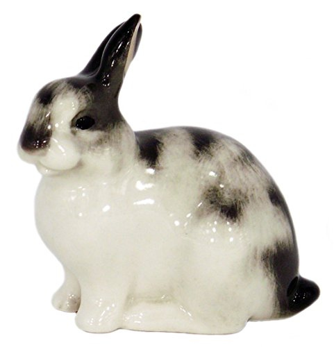 Bunny Rabbit Easter Lomonosov Porcelain Collectible Figurine