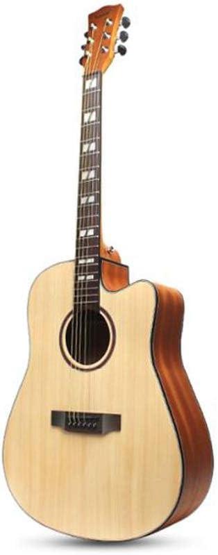 Miiliedy Chapa Minimalista Clásica Guitarra Acústica 41 Pulgadas ...