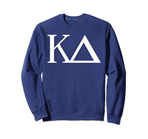 (Unisex Kappa Delta Sweatshirt College Sorority Fraternity Large Navy)