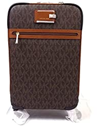 Michael Kors Signature Travel Trolley Rolling Carry On Suitcase