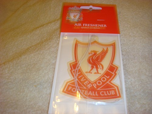 Liverpool Official FC 70s Style Crest air freshener Very Rare RED AMOS 10 COLLECTIBLES/ LIVERPOOL FC
