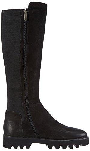 Bruno Premi D1403G - botas de caño alto de cuero mujer negro - negro