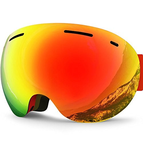 Zionor Snowboard Anti fog Protection Spherical