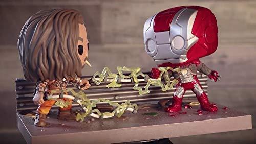 Pop! Movie Moments Funko Iron Man 2 Whiplash Vs. Iron Man Collector Corps Exclusive