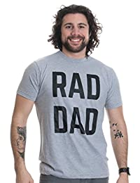 RAD DAD | Funny Cool Dad Joke Humor, Grandfather Father's Day Grandpa T-shirt