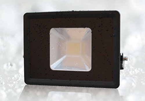 50W 屋外用LED角型投光器 昼白色 ブラック バラストレス水銀灯400W代替 B01DQHFKUS 22788
