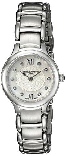 Frederique Constant Women's FC200WHD1ER6B Classics Junior Analog Display Swiss Quartz Silver Watch