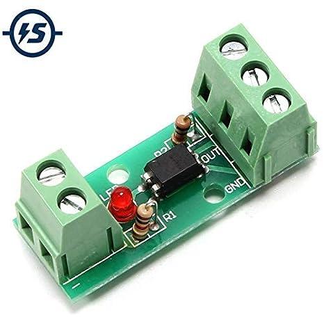 Optocoupler módulo de aislamiento, PC817 EL817 12 V 80 KHz 1 canal ...