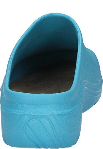 AJS Sabot COLOR bleu lagon, EVA Clog Blau