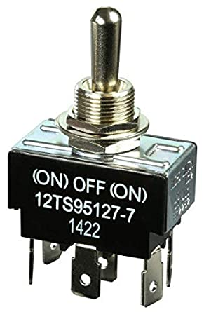 Off 3 Position Toggle Switch Heavy Duty On On Double Pole