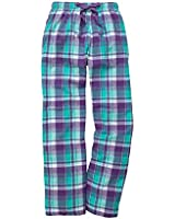 Boxercraft Women's Cozy Flannel Pajama Lounge Pants With Pockets