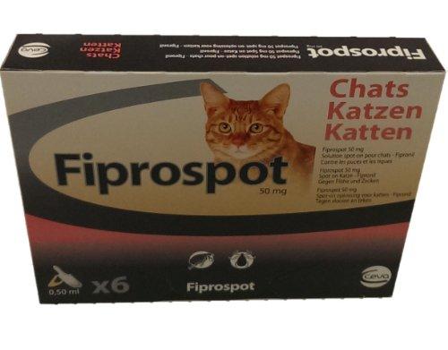 Fiprospot Katze 6 pipetten