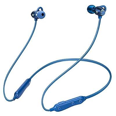 Bluetooth Headphones, V4.2 Wireless Earbuds 7H Music Time Hi-Fi Stereo Headset, IPX7 Waterproof Running Headphones Magnetic in-Ear Earbuds