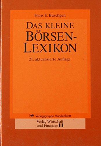 Das kleine Börsen-Lexikon.
