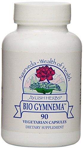 Ayush Herbs Bio Gymnema Herbal Supplement, 90 Count