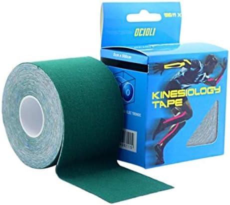 Cinta Adhesiva elástica de algodón para Lesiones musculares, Cinta ...