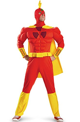 [Radioactive Man Costume - XX-Large - Chest Size 50-52] (Wicked Jester Deluxe Adult Mens Costumes)