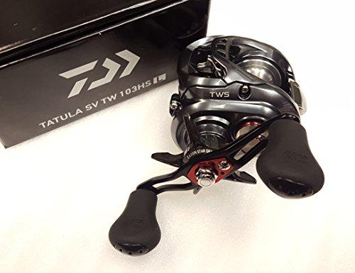 Daiwa Tatula SV TW 103HSL 7.3:1 Baitcast Left Hand Fishing Reel - TASV103HSL Daiwa Rods And Reels