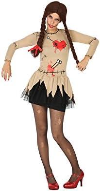 Atosa 17743 Disfraz muñeca vudu adulto XL, talla mujer: Amazon.es ...