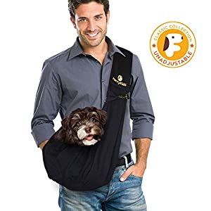 FurryFido Adjustable Pet Sling Carrier for Cats Dogs up to 13+ lbs