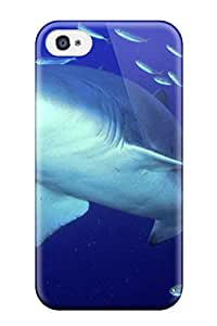 Predator Sand Tiger Shark Case Compatible With Iphone 4/4s/ Hot Protection Case
