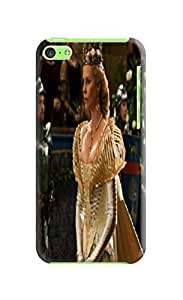 The best selling shock absorption bumper tpu cases/cover with texture for iphone 5c of Snow White in Fashion E-Mall