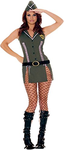 [Adult Sexy Army Brat Costume] (Adult Army Brat Costumes)