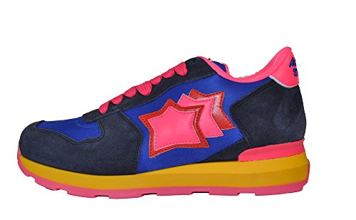 Atlantic Stars , Damen Sneaker Royal+Fuxia