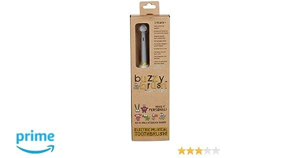 Cepillo de dientes eléctrico y musical Buzzy Brush de Jack N Jill: Amazon.es: Salud y cuidado personal